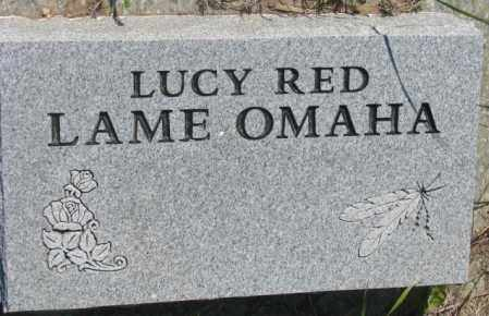 RED LAME, LUCY - Mellette County, South Dakota | LUCY RED LAME - South Dakota Gravestone Photos