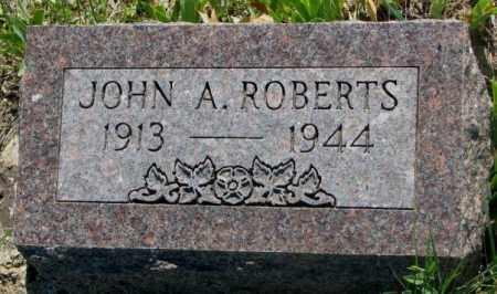 ROBERTS, JOHN A. - Mellette County, South Dakota | JOHN A. ROBERTS - South Dakota Gravestone Photos