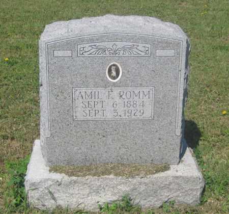 ROMM, AMIL  F. - Mellette County, South Dakota | AMIL  F. ROMM - South Dakota Gravestone Photos