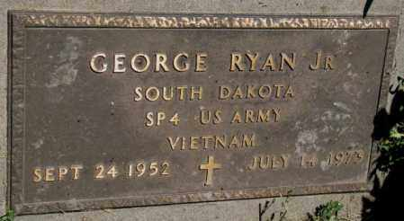 RYAN, GEORGE JR. - Mellette County, South Dakota | GEORGE JR. RYAN - South Dakota Gravestone Photos