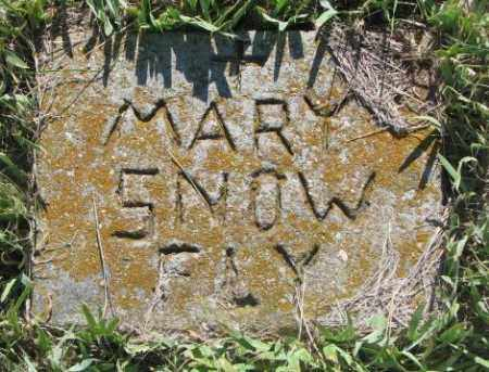 SNOW FLY, MARY - Mellette County, South Dakota | MARY SNOW FLY - South Dakota Gravestone Photos