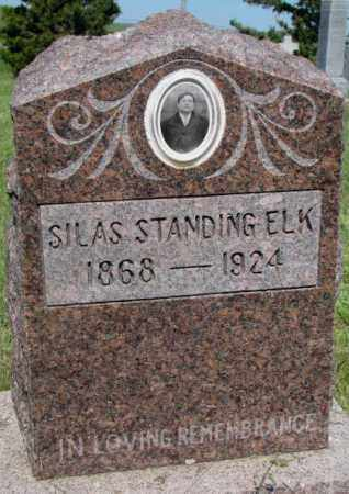 STANDING ELK, SILAS - Mellette County, South Dakota | SILAS STANDING ELK - South Dakota Gravestone Photos