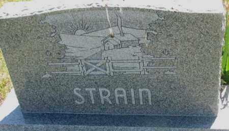 STRAIN, PLOT - Mellette County, South Dakota   PLOT STRAIN - South Dakota Gravestone Photos