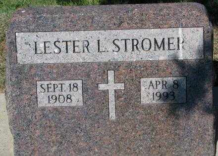 STROMER, LESTER L. - Mellette County, South Dakota | LESTER L. STROMER - South Dakota Gravestone Photos