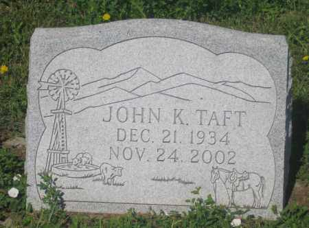 TAFT, JOHN  K. - Mellette County, South Dakota | JOHN  K. TAFT - South Dakota Gravestone Photos