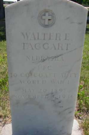 TAGGART, WALTER E. - Mellette County, South Dakota | WALTER E. TAGGART - South Dakota Gravestone Photos