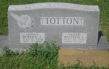 TOTTON, QILFRED  L. - Mellette County, South Dakota | QILFRED  L. TOTTON - South Dakota Gravestone Photos