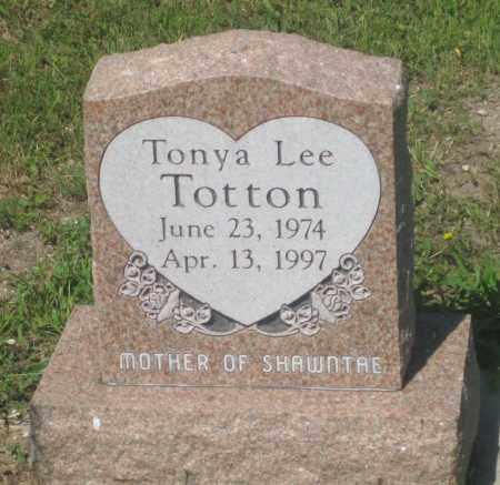 TOTTON, TONYA  LEE - Mellette County, South Dakota | TONYA  LEE TOTTON - South Dakota Gravestone Photos