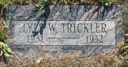 TRICKLER, LYLE W. - Mellette County, South Dakota | LYLE W. TRICKLER - South Dakota Gravestone Photos