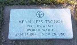 TWIGGS, VERN JESS - Mellette County, South Dakota   VERN JESS TWIGGS - South Dakota Gravestone Photos