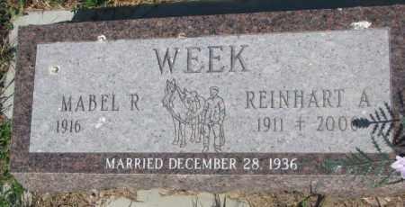 WEEK, MABEL R. - Mellette County, South Dakota   MABEL R. WEEK - South Dakota Gravestone Photos