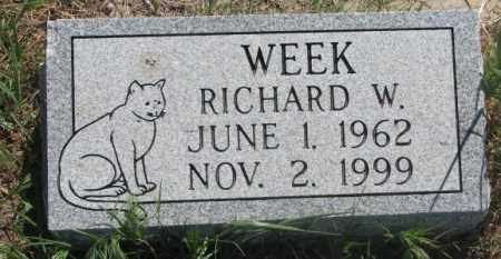 WEEK, RICHARD W. - Mellette County, South Dakota | RICHARD W. WEEK - South Dakota Gravestone Photos