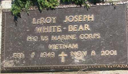 WHITE-BEAR, LEROY JOSEPH - Mellette County, South Dakota | LEROY JOSEPH WHITE-BEAR - South Dakota Gravestone Photos