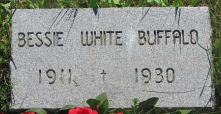 WHITE BUFFALO, BESSIE - Mellette County, South Dakota | BESSIE WHITE BUFFALO - South Dakota Gravestone Photos