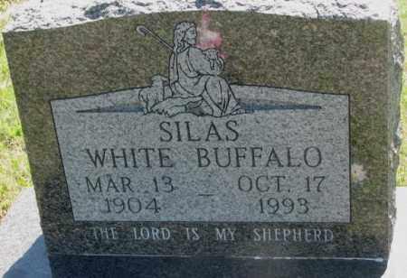 WHITE BUFFALO, SILAS - Mellette County, South Dakota | SILAS WHITE BUFFALO - South Dakota Gravestone Photos