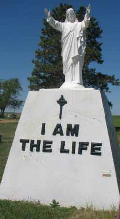 *WHITE RIVER, I AM THE LIFE - Mellette County, South Dakota   I AM THE LIFE *WHITE RIVER - South Dakota Gravestone Photos