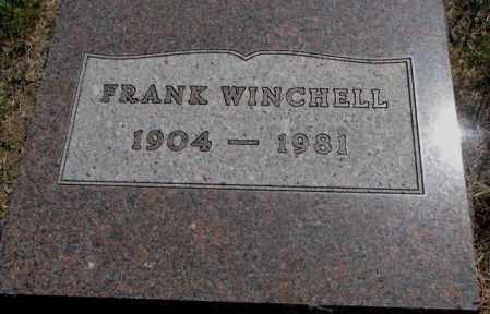 WINCHELL, FRANK - Mellette County, South Dakota   FRANK WINCHELL - South Dakota Gravestone Photos