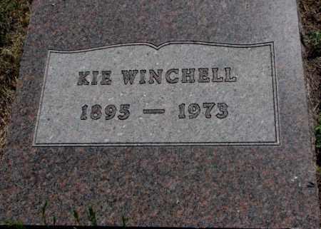 WINCHELL, KIE - Mellette County, South Dakota | KIE WINCHELL - South Dakota Gravestone Photos