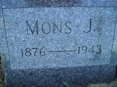 AALAND, MONS J. - Miner County, South Dakota | MONS J. AALAND - South Dakota Gravestone Photos