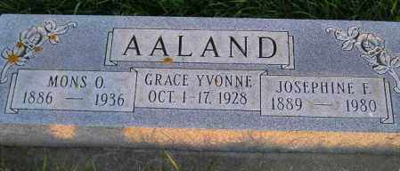 AALAND, MONS O. - Miner County, South Dakota | MONS O. AALAND - South Dakota Gravestone Photos