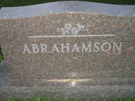 ABRAHAMSON, FAMILY STONE - Miner County, South Dakota | FAMILY STONE ABRAHAMSON - South Dakota Gravestone Photos