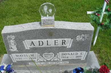 ADLER, MAVIS M - Miner County, South Dakota | MAVIS M ADLER - South Dakota Gravestone Photos