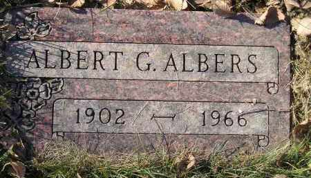 ALBERS, ALBERT G. - Miner County, South Dakota | ALBERT G. ALBERS - South Dakota Gravestone Photos