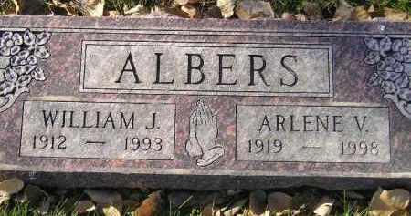 ALBERS, WILLIAM J. - Miner County, South Dakota | WILLIAM J. ALBERS - South Dakota Gravestone Photos