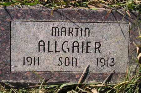 ALLGAIER, MARTIN - Miner County, South Dakota | MARTIN ALLGAIER - South Dakota Gravestone Photos