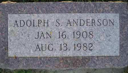 ANDERSON, ADOLPH S. - Miner County, South Dakota | ADOLPH S. ANDERSON - South Dakota Gravestone Photos