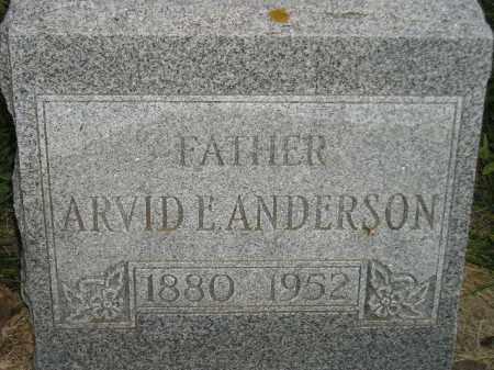 ANDERSON, ARVID E. - Miner County, South Dakota | ARVID E. ANDERSON - South Dakota Gravestone Photos