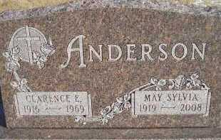 ANDERSON, CLARENCE E. - Miner County, South Dakota | CLARENCE E. ANDERSON - South Dakota Gravestone Photos