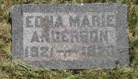 ANDERSON, EDNA MARIE - Miner County, South Dakota | EDNA MARIE ANDERSON - South Dakota Gravestone Photos