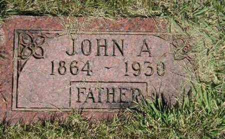 ANDERSON, JOHN A. - Miner County, South Dakota | JOHN A. ANDERSON - South Dakota Gravestone Photos