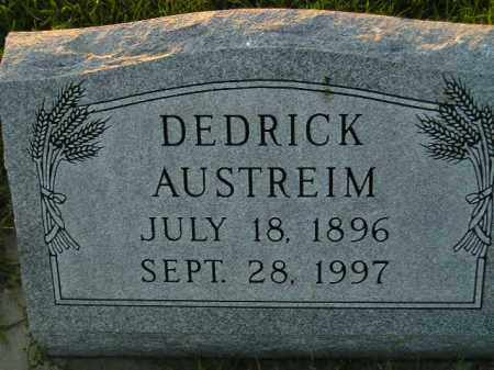 AUSTREIM, DEDRICK - Miner County, South Dakota | DEDRICK AUSTREIM - South Dakota Gravestone Photos