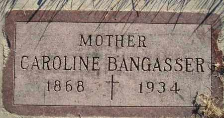 BANGASSER, CAROLINE - Miner County, South Dakota   CAROLINE BANGASSER - South Dakota Gravestone Photos