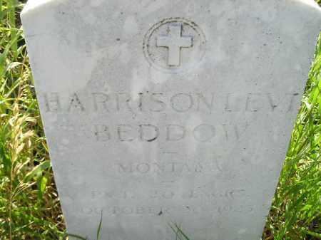 BEDDOW, HARRISON LEVI - Miner County, South Dakota | HARRISON LEVI BEDDOW - South Dakota Gravestone Photos