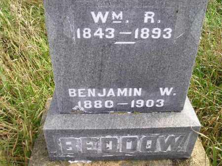 BEDDOW, BENJAMIN W. - Miner County, South Dakota | BENJAMIN W. BEDDOW - South Dakota Gravestone Photos