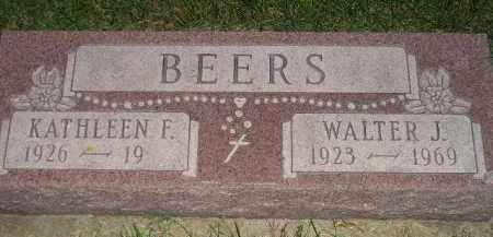 BEERS, KATHLEEN F. - Miner County, South Dakota   KATHLEEN F. BEERS - South Dakota Gravestone Photos