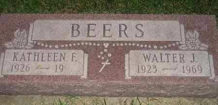 BEERS, KATHLEEN F. - Miner County, South Dakota | KATHLEEN F. BEERS - South Dakota Gravestone Photos