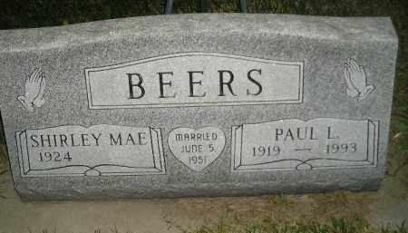 BEERS, SHIRLEY MAE - Miner County, South Dakota | SHIRLEY MAE BEERS - South Dakota Gravestone Photos
