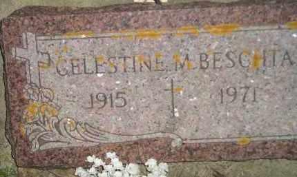 BESCHTA, CELESTINE M. - Miner County, South Dakota | CELESTINE M. BESCHTA - South Dakota Gravestone Photos