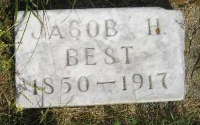 BEST, JACOB H. - Miner County, South Dakota | JACOB H. BEST - South Dakota Gravestone Photos