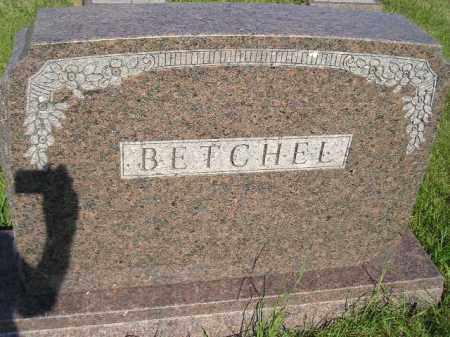 BETCHEL, FAMILY STONE - Miner County, South Dakota | FAMILY STONE BETCHEL - South Dakota Gravestone Photos