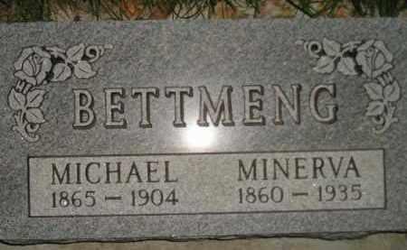 BETTMENG, MICHAEL - Miner County, South Dakota | MICHAEL BETTMENG - South Dakota Gravestone Photos