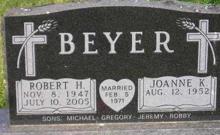 BEYER, JOANNE K. - Miner County, South Dakota | JOANNE K. BEYER - South Dakota Gravestone Photos