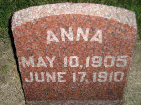 BIEGGER, ANNA - Miner County, South Dakota   ANNA BIEGGER - South Dakota Gravestone Photos
