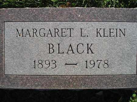 BLACK, MARGARET L. - Miner County, South Dakota | MARGARET L. BLACK - South Dakota Gravestone Photos
