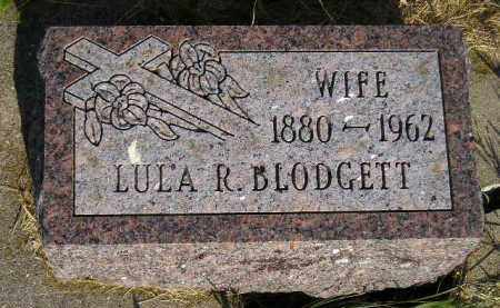BLODGETT, LULA R. - Miner County, South Dakota | LULA R. BLODGETT - South Dakota Gravestone Photos