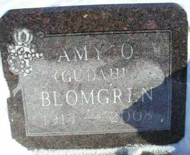 GUDAHL BLOMGREN, AMY O. - Miner County, South Dakota | AMY O. GUDAHL BLOMGREN - South Dakota Gravestone Photos